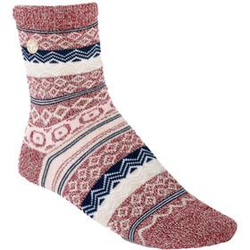 Birkenstock Cotton Jacquard Socks Dame Tawny Port